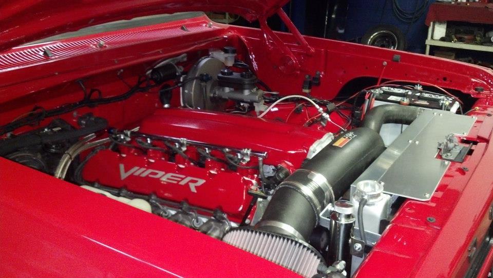 Dodge Ramcharger With A Srt 10 V10 Engine Swap Depot