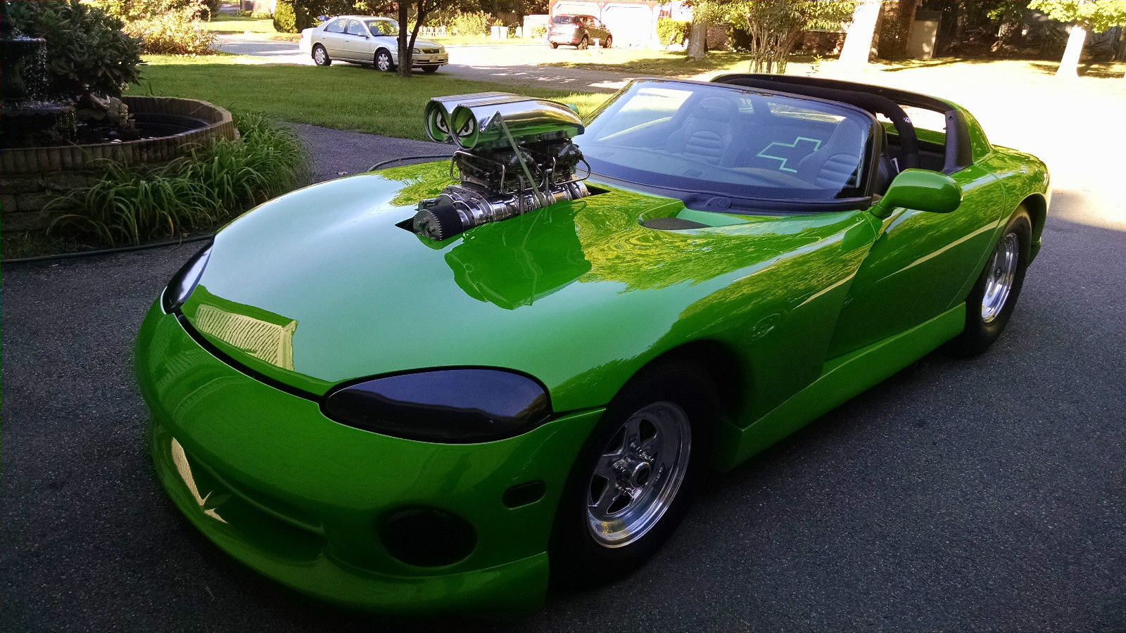 1998 Viper With A Blown Chevy V8 Engine Swap Depot