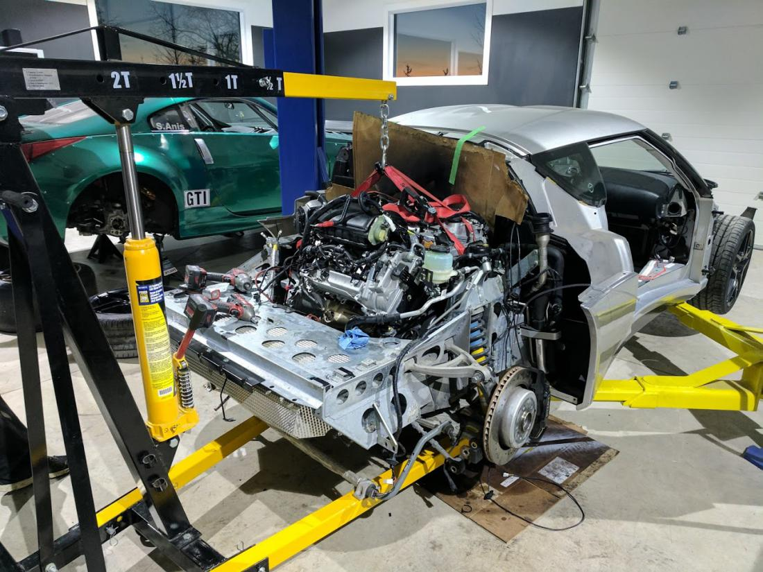 Building A Lotus Evora With A Tesla Electric Motor Engine Swap Depot