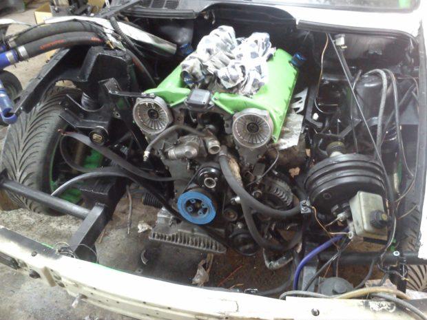 BMW E30 with a 5.4 L M73 V12