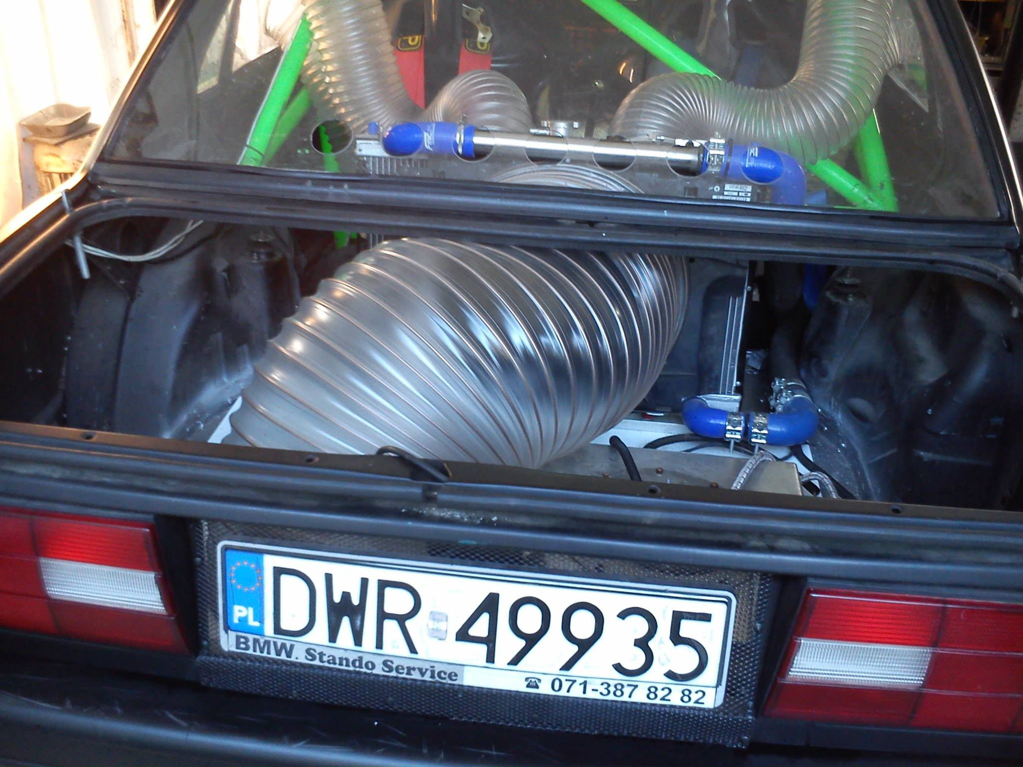 Bmw E30 With A Supercharged V12 Engine Swap Depot