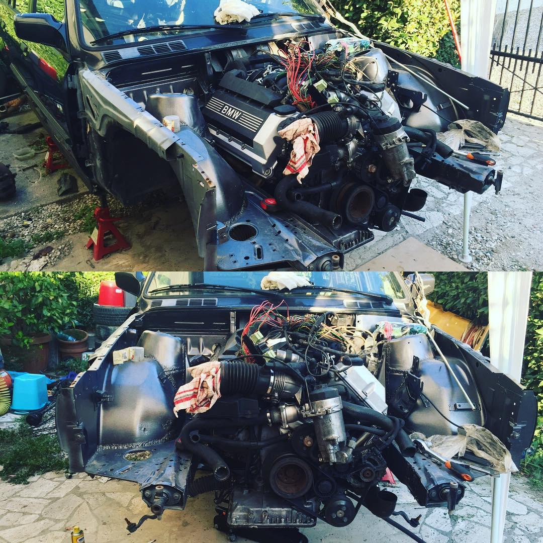Bmw E30 Wagon With A M60 V8 Engine Swap Depot