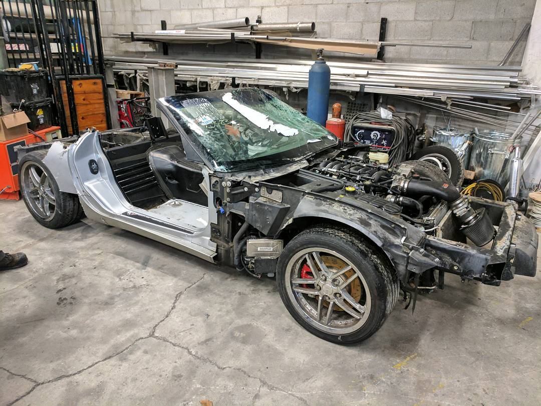 Custom 1967 Mustang With A Corvette Powertrain  U2013 Engine