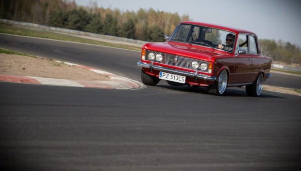 Fiat 125p with a VR6