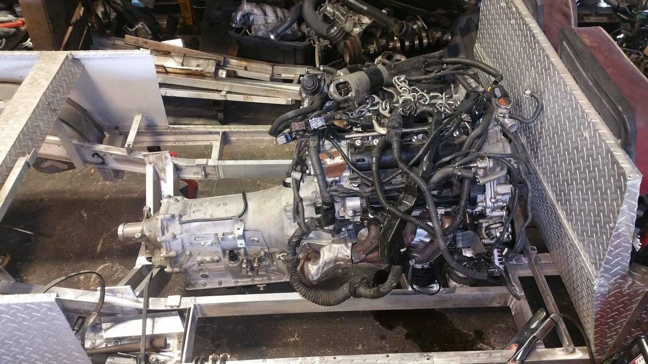 Building a Twin Turbo V6 Powered Golf Cart ndash Engine Swap Depot