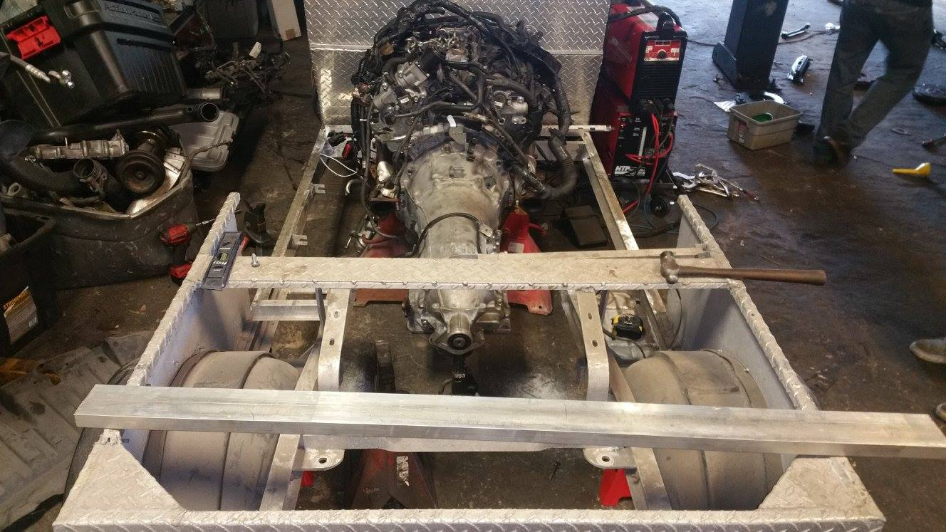 Building a Twin-Turbo V6 Powered Golf Cart – Engine Swap Depot
