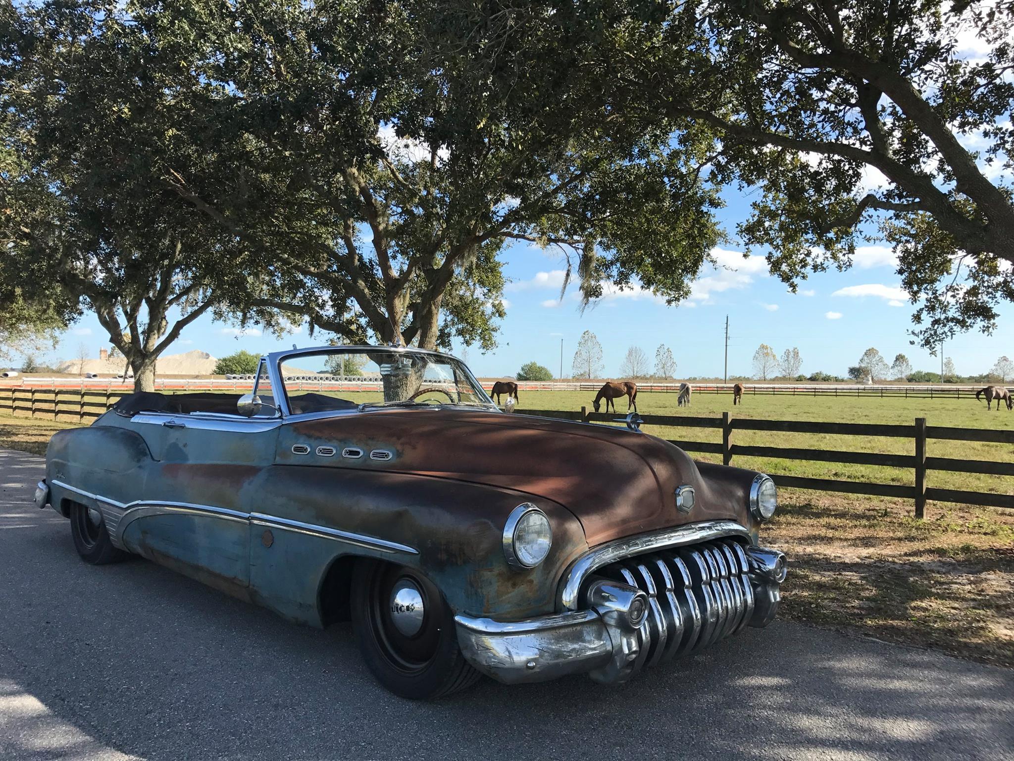 For Sale Icon Derelict 1950 Buick Roadmaster Engine