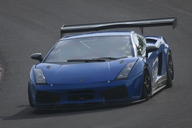 Lamborghini Gallardo with a turbocharged Volkswagen inline-four