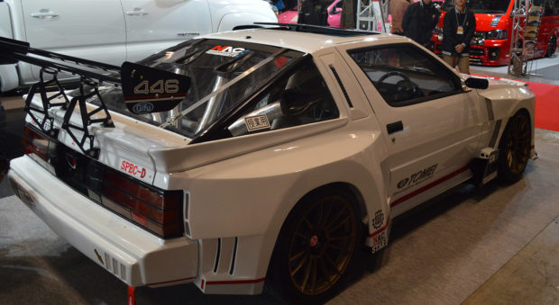 NAC SPEC-D Mitsubishi Starion with a RB26DETT