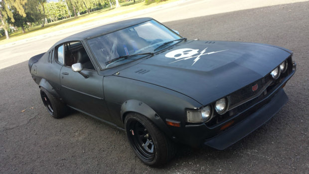 Project Fury 1977 Celica with a supercharged 1UZ  V8