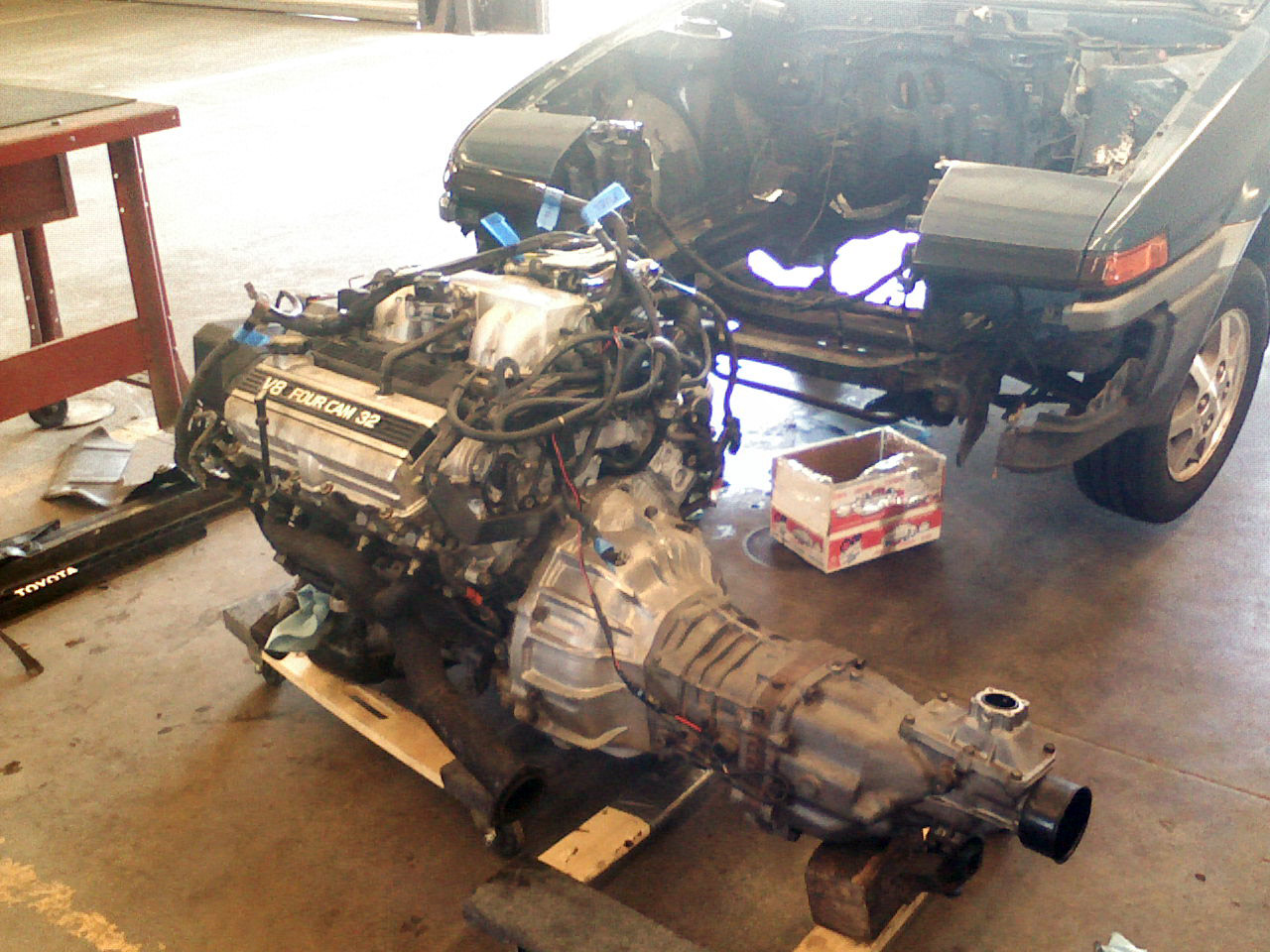 Project Fury Celica With A Supercharged Uz V