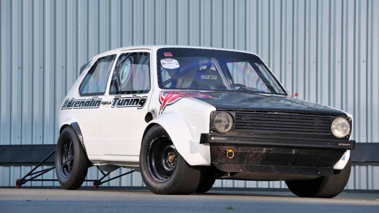 Golf Mk1 with a Turbo 1 8 L Sets European FWD Record