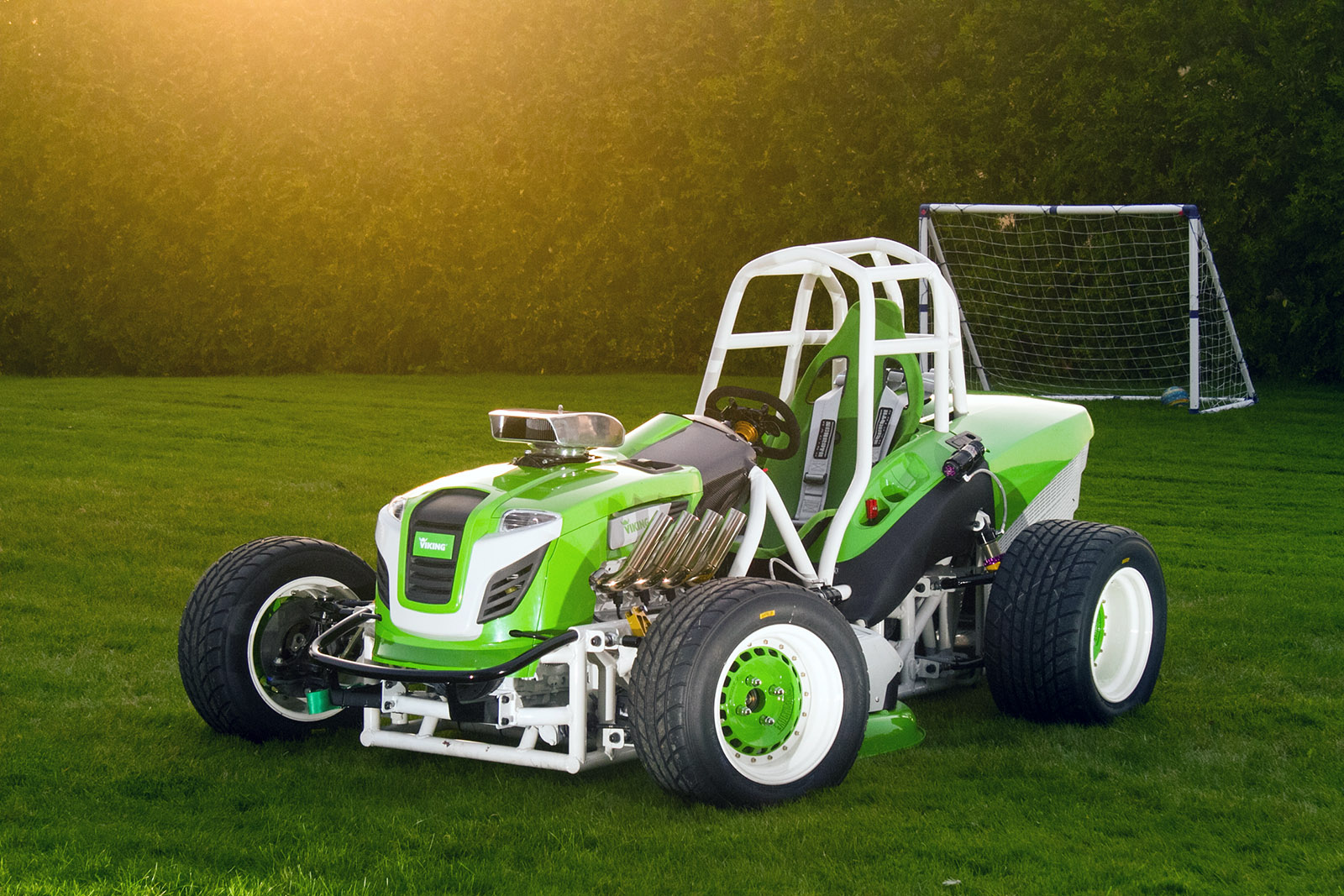 Viking T6 Mower with a LS1 – Engine Swap Depot