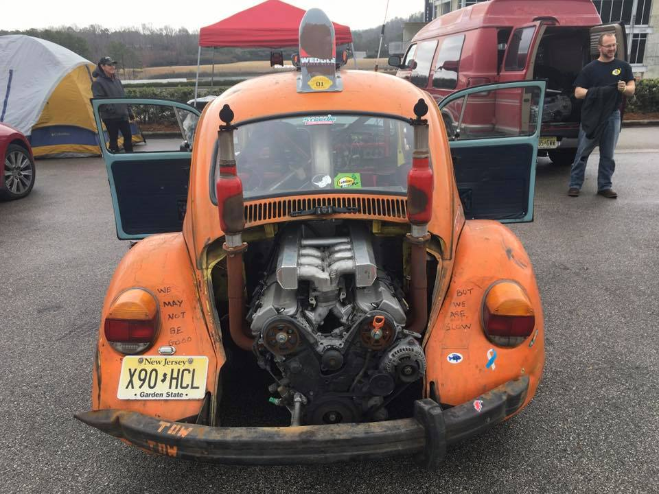 Watch Randy Pobst Drive A Vw Beetle With A Honda V6