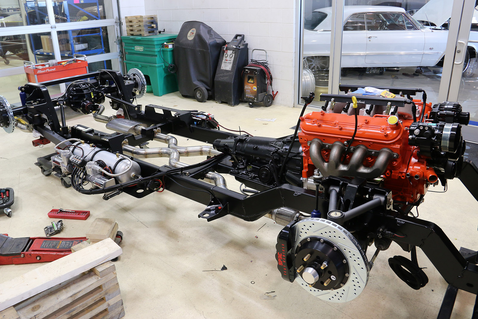 Chevy C10 With A 408 Ci Lsx Engine Swap Depot