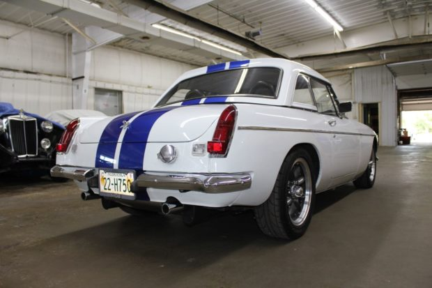 1980 MG MGB with a 3.4 L V6