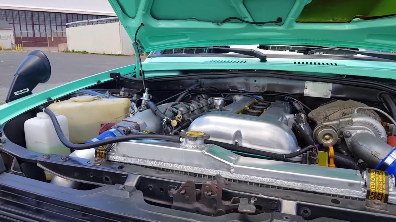 Toyota Starlet with a SR20DET – Engine Swap Depot