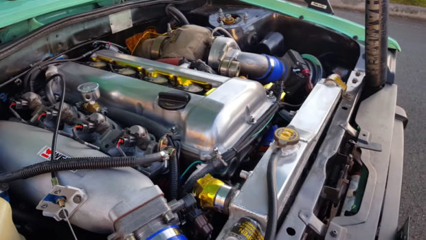 1982 Toyota Sarlet with a SR20DET inline-four