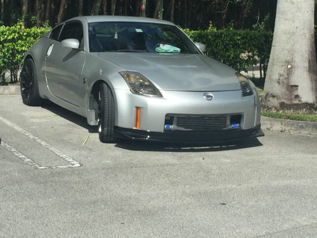 2007 Nissan 350Z with a 2JZ-GTE inline-six