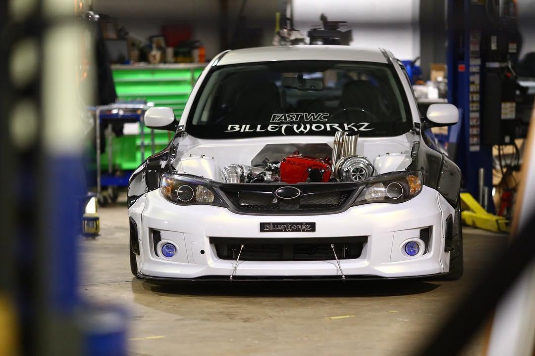 Subaru Wrx With A Turbo Rb26 Engine Swap Depot