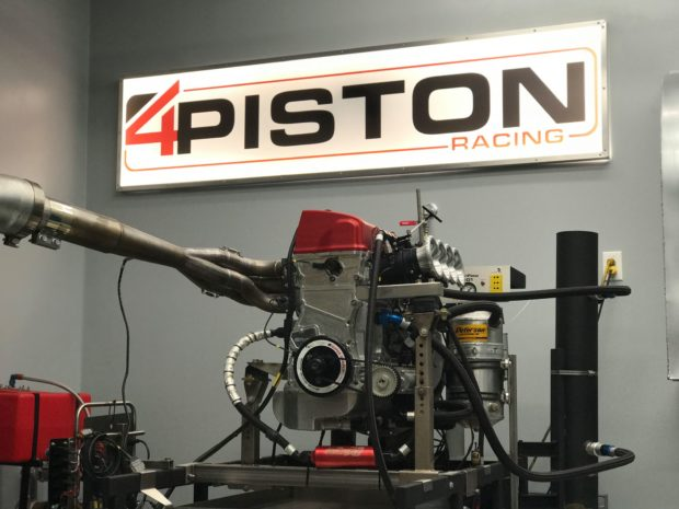 4 Piston Racing 500 HP 2.7 L K-Series inline-four
