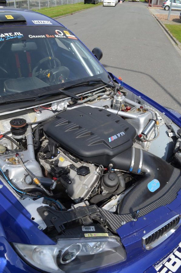 BMW 130i with a 4.0 L S65 V8
