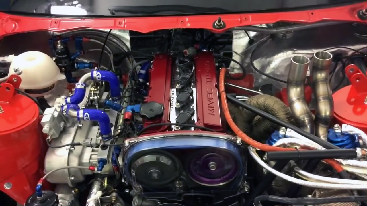 Timing Belt Kit >> BMW E46 with a Turbo 4G63 – Engine Swap Depot