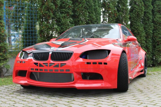BMW E46 with a Turbo 4G63 inline-four