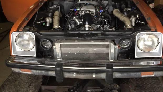 Chevette with a Twin-Turbo 5.3 L LSx V8