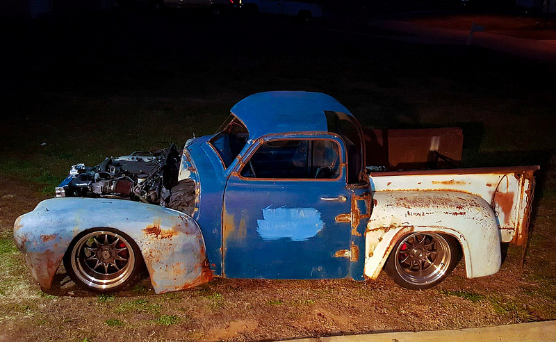 Custom Truck with a Miata Chassis and Powertrain – Engine ...