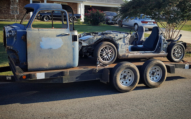 custom truck with a miata chassis and powertrain ndash engine 1992 ford f 250 7.3 diesel e4od 2wd transmission wiring harness ford transmission wiring harness