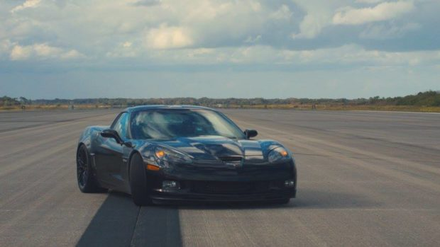 Genovation GXE 2006 Corvette Z06 with two electric motors