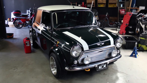 MCM Mini with a Honda B16 inline-four