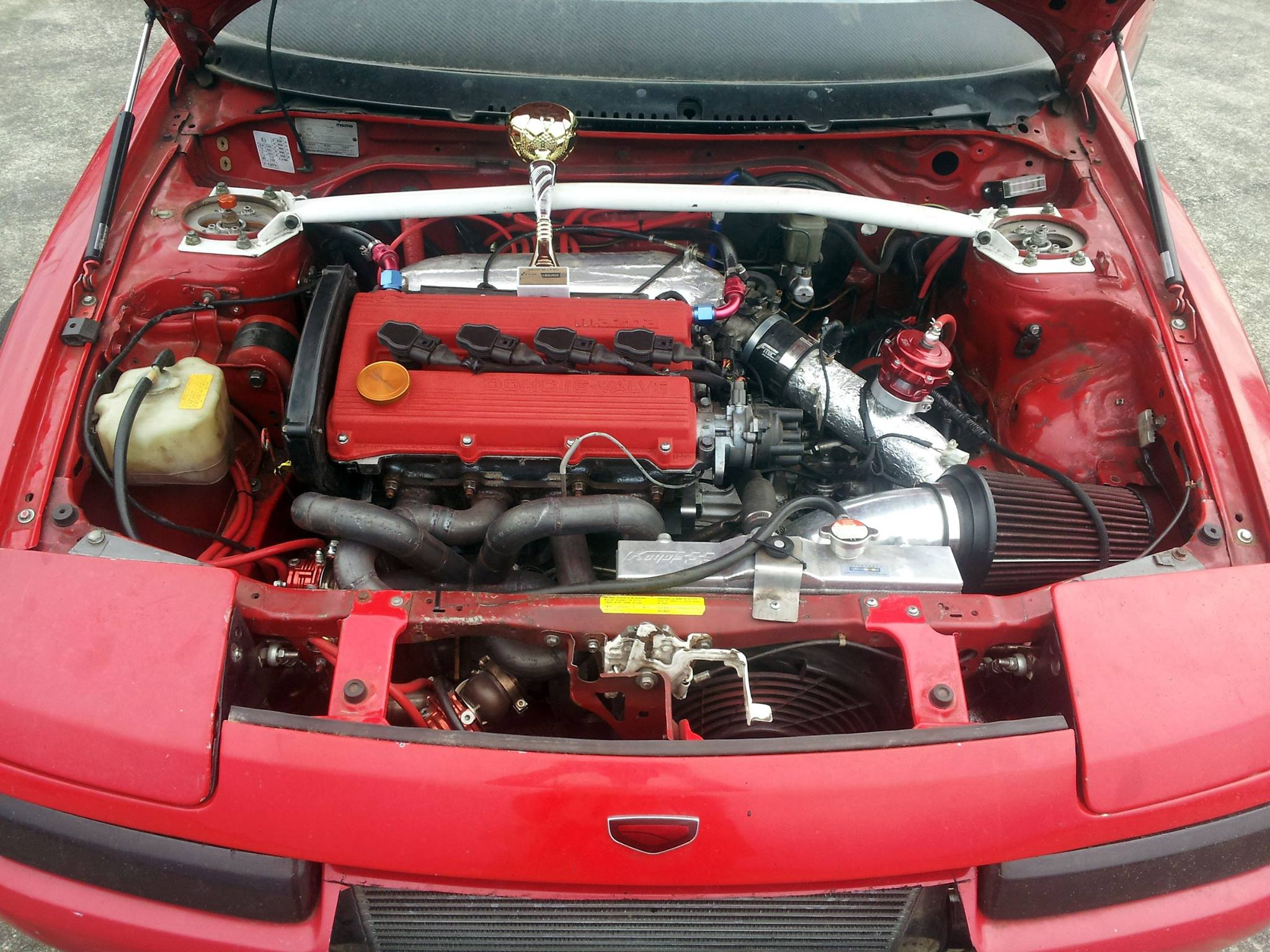 Mazda 323f With A Turbo 1 8 L Bp Engine Swap Depot