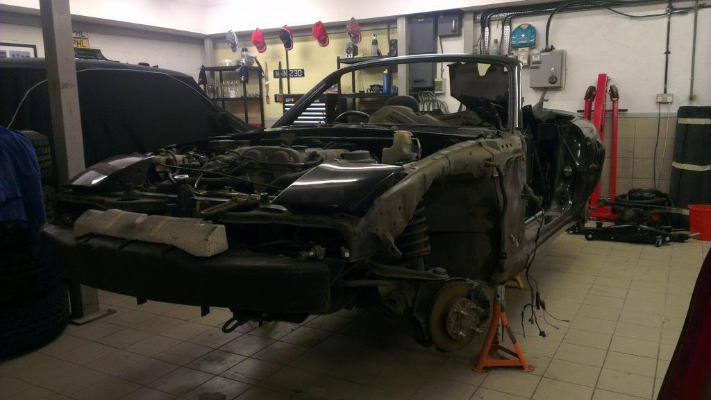 Mazda MX-5 with a Turbo 4G63 – Engine Swap Depot