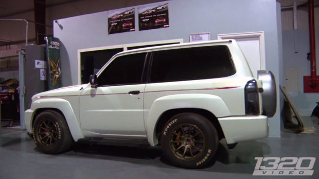 Nissan Patrol with a R35 Powertrain VR38DETT V6