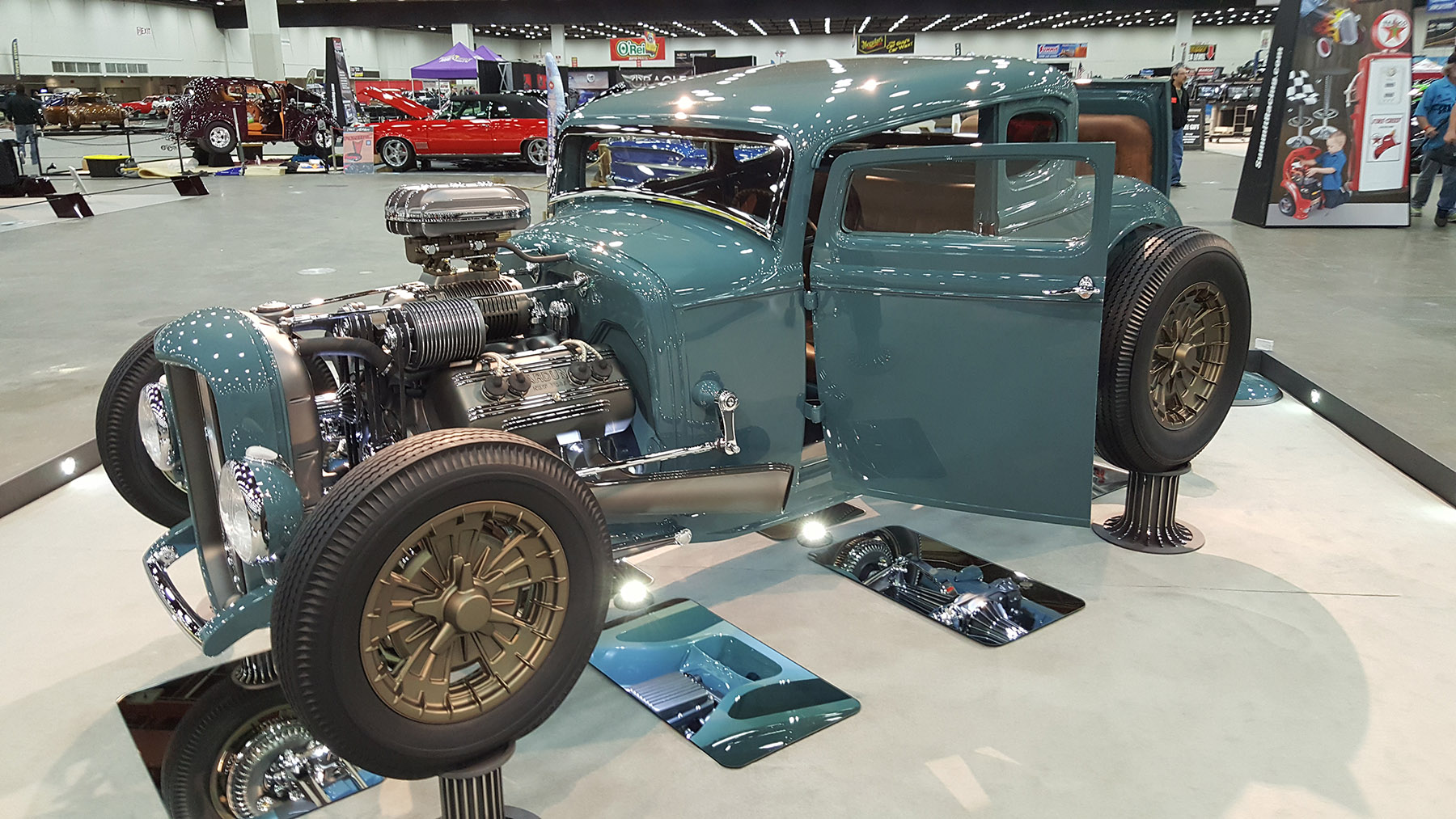 Model A With A Supercharged Flathead V