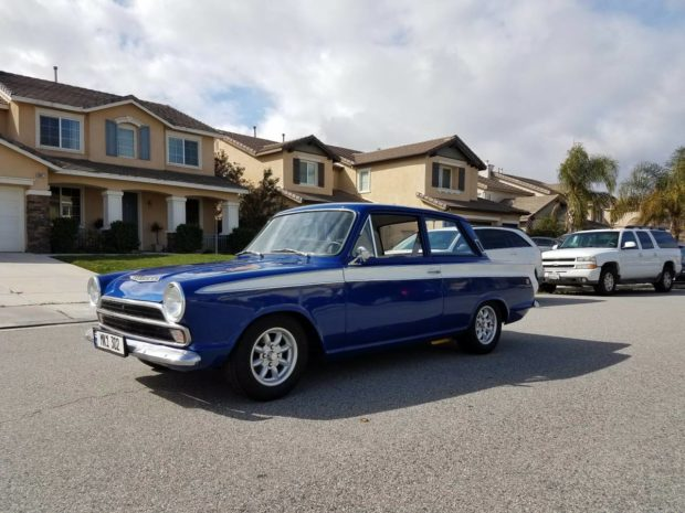 1966 Ford Cortina with a 302 ci V8