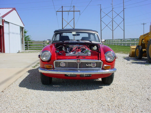 For Sale: 1966 MGB with a Ford V8 – Engine Swap Depot