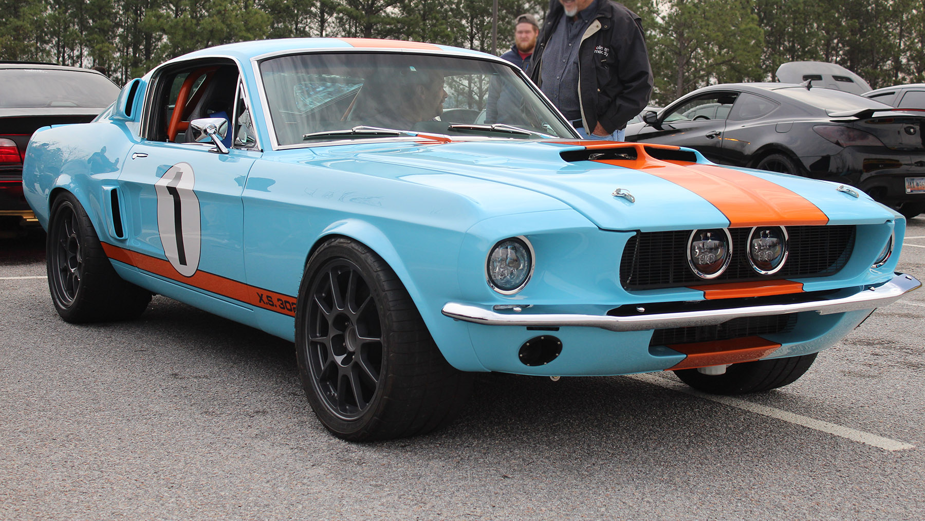 1968 mustang with a coyote v8  u2013 engine swap depot