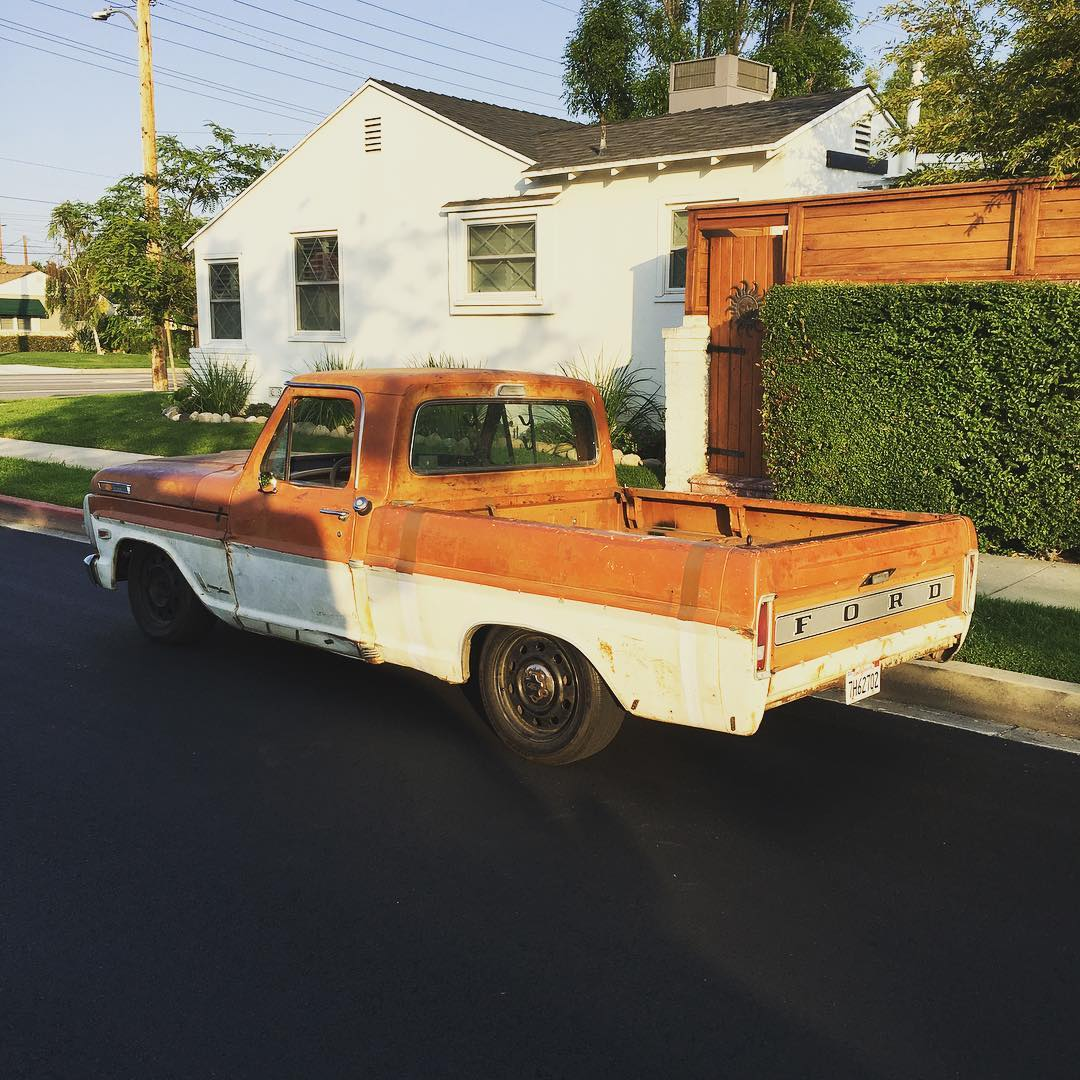 1969 Ford F 250 Wrapped Around A Crown Victoria Engine Swap Depot 4x4 Highboy Truck With Chassis And Is Now Building 1953 F250 On Mercury Mountaineer You Can Follow Nathans Other Projects His