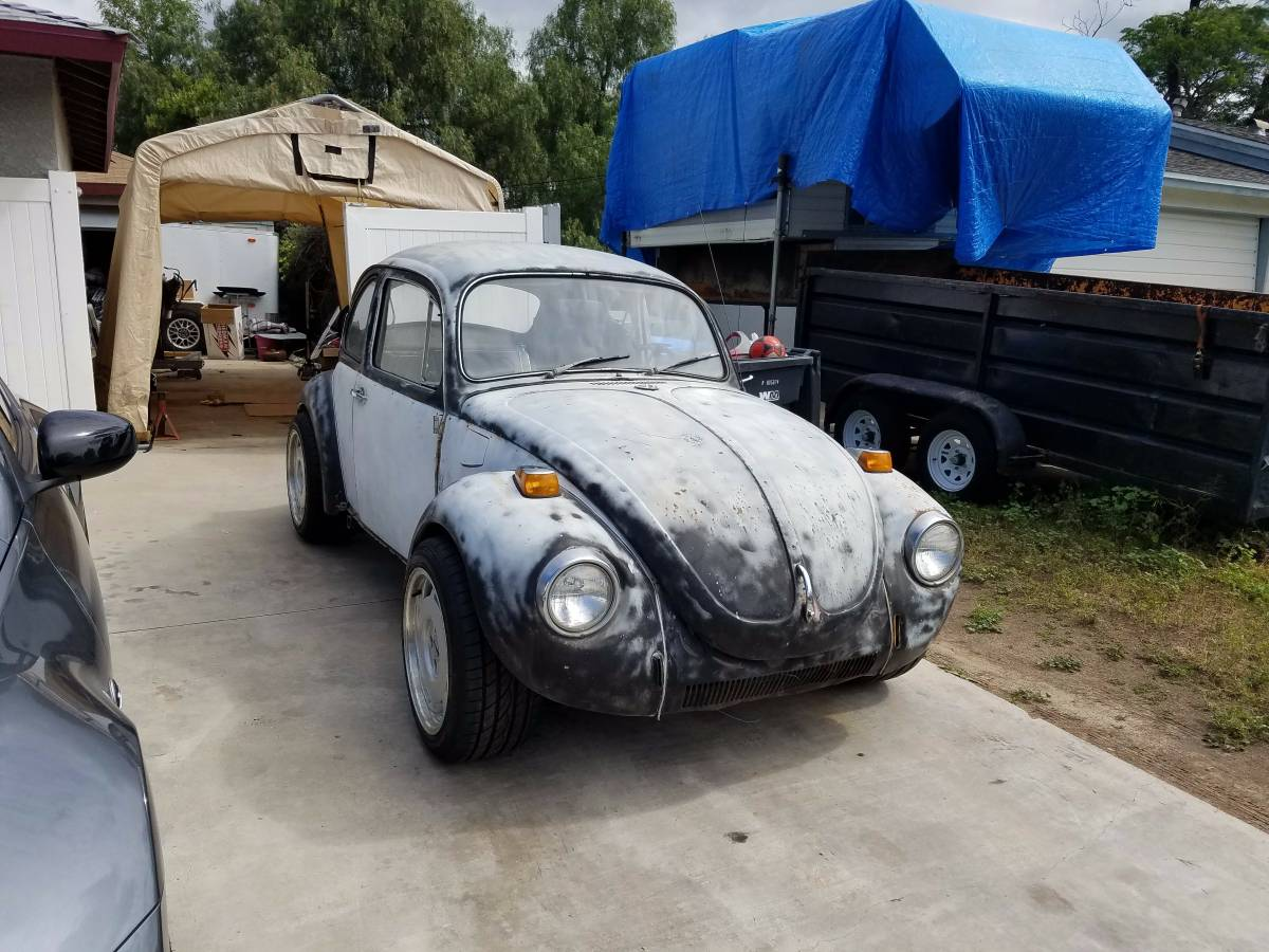 for sale  1971 beetle on a s