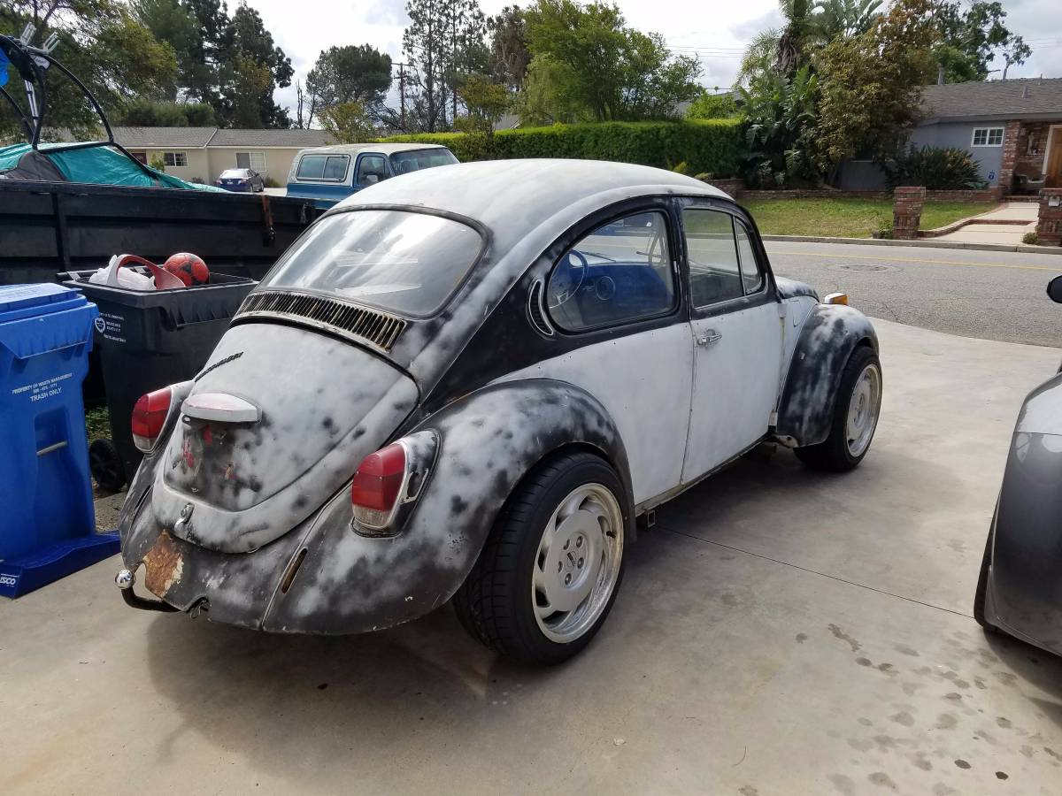 For Sale: 1971 Beetle on a S-10 Chassis with a SBC V8 – Engine Swap ...