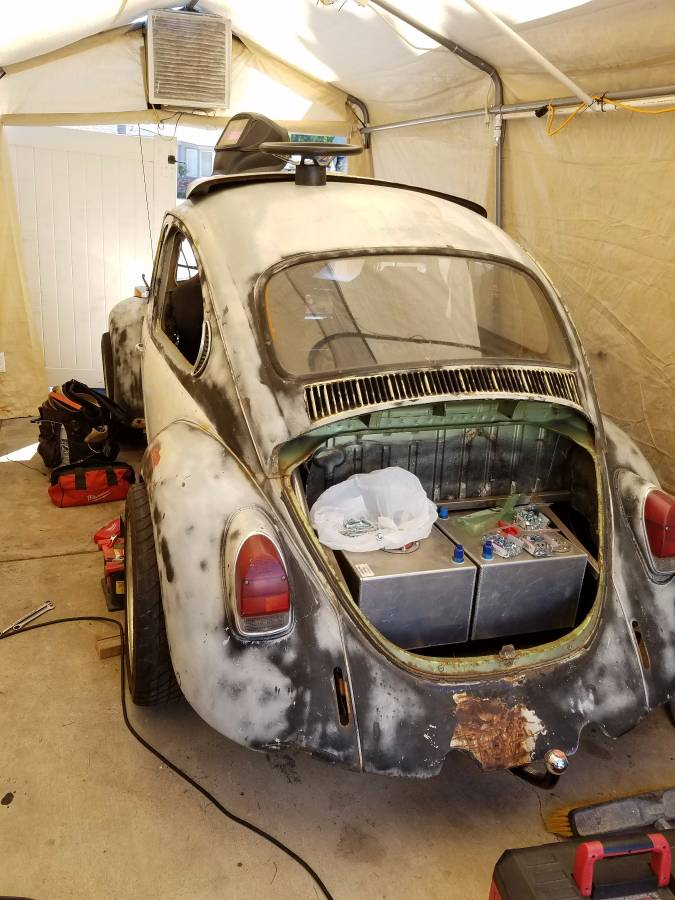 For Sale: 1971 Beetle on a S-10 Chassis with a SBC V8