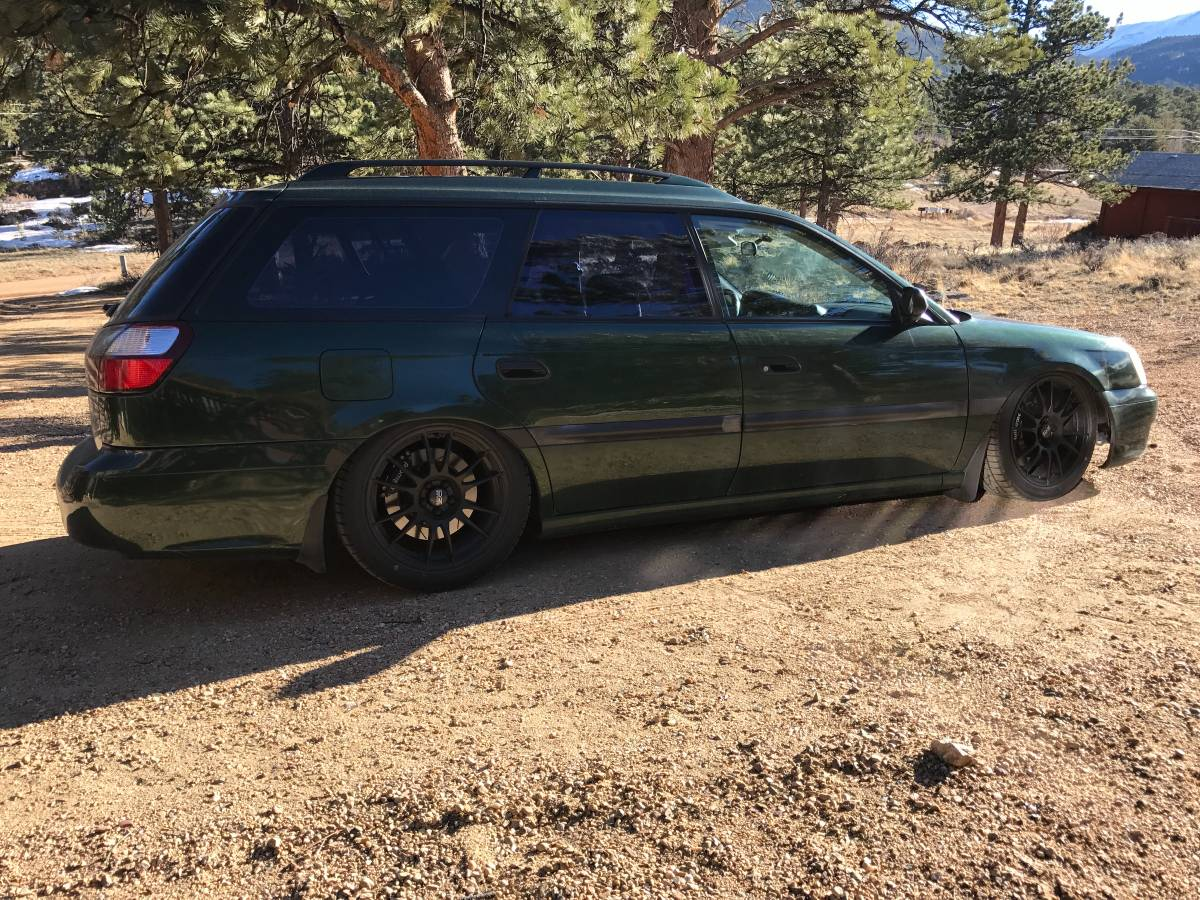 2000 Subaru Legacy wagon with a LS2 V8