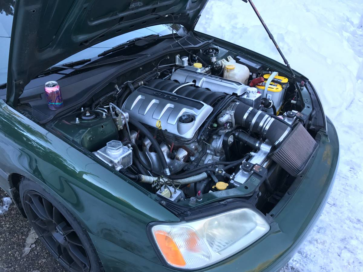 Sti For Sale >> For Sale: 2000 Subaru Legacy Wagon with LS2 V8 – Engine Swap Depot