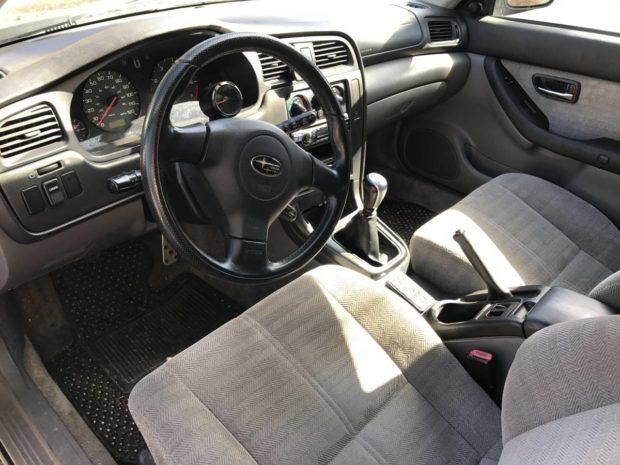 2000 Subaru Legacy wagon with a LS2 V8