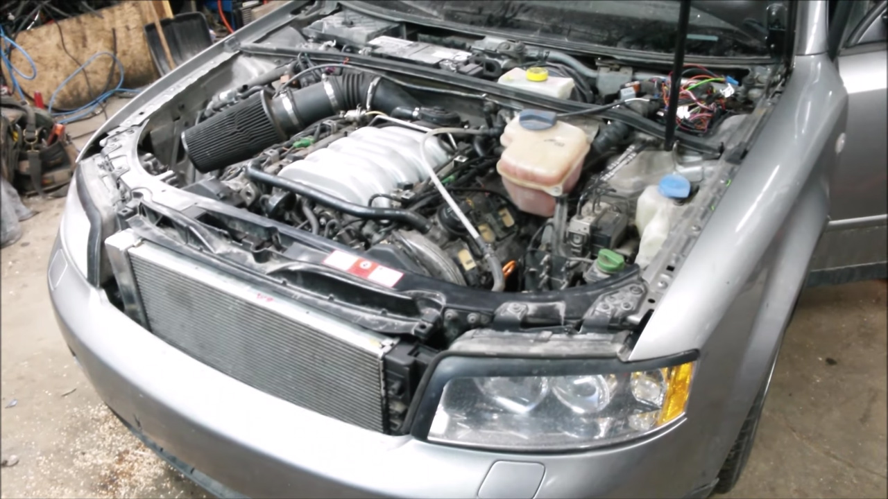 2003 Audi A4 with a 4 2 L V8 – Engine Swap Depot