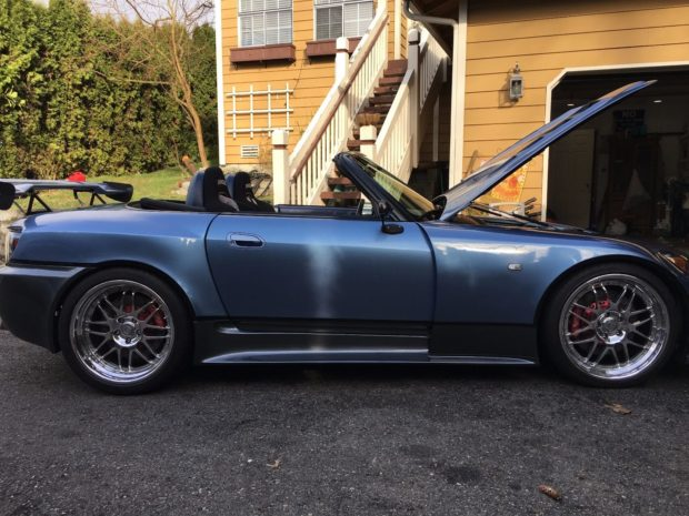 2004 Honda S2000 with a 7.0 L LS7 V8