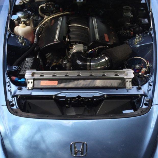 2004 Honda S2000 with a 7.0 L LS7 V8